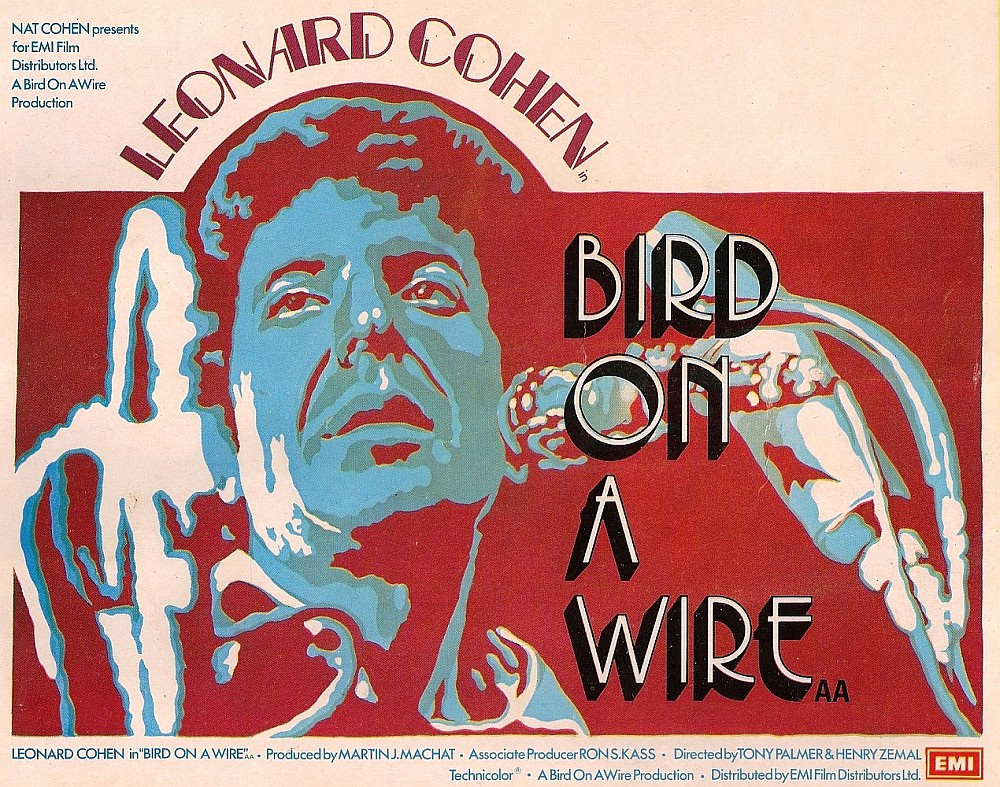 Poster of the 1974 release of Bird On The Wire.