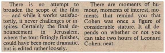 A review of the Alternate Cut of the film by Bob Woffinden, which mistakenly credits Tony Palmer with the film's direction.