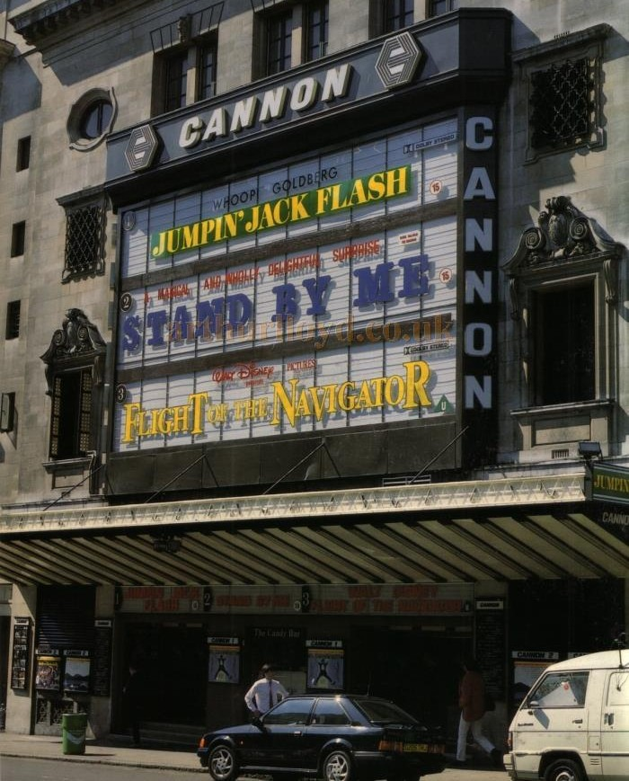 Cannon Haymarket Cinema, London, circa 1986.